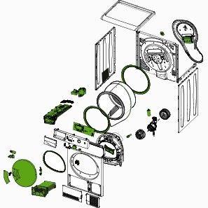 courroie pi ces d tach es pour s che linge aux meilleurs prix sos accessoire. Black Bedroom Furniture Sets. Home Design Ideas
