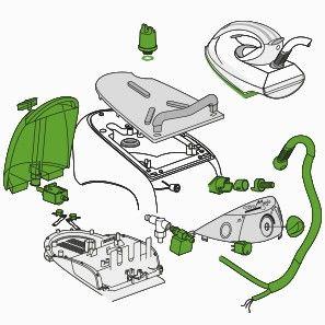 Pi ces d tach es et accessoires pour centrale vapeur et for Centrale vapeur professionnelle pour pressing