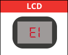 Code erreur panne lave-vaisselle LG E1