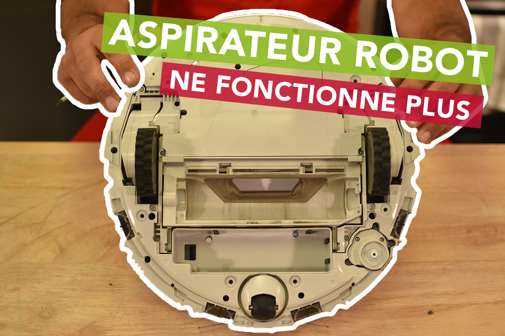 Pourquoi mon aspirateur robot ne fonctionne plus ? SOS