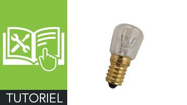 Comment changer l'ampoule d'un four ?