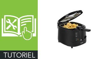 Comment remplacer le couvercle d'une friteuse ?