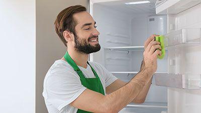 Comment nettoyer le joint de porte d'un frigo ?