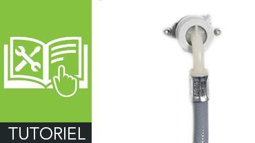 Comment installer ou remplacer un tuyau d'arrivée d'eau sur un lave-linge ?