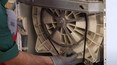 Comment changer la courroie d'un lave-linge ?