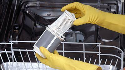 Comment nettoyer le filtre d'un lave-vaisselle ?